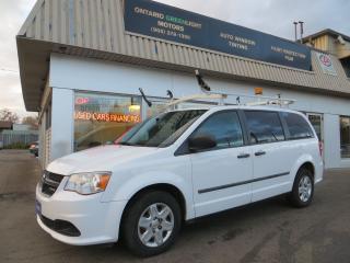 Used 2012 Dodge Grand Caravan RAM,COMMERCIAL BUILT,LADDER RACKS,DIVIDER,SHELVING for sale in Mississauga, ON