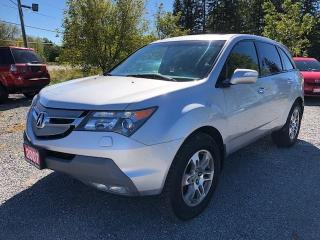 Used 2007 Acura MDX SH AWD LEATHER SUNROOF 7 PASS for sale in Stouffville, ON