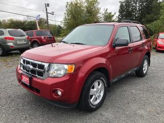 Used 2011 Ford Escape XLT LEATHER / ALL WHEEL DRIVE/ CERTIFIED for sale in Stouffville, ON