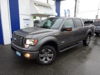 Used 2012 Ford F-150 FX4 Crew, Nav, Sunroof, Leather, EcoBoost for sale in Langley, BC