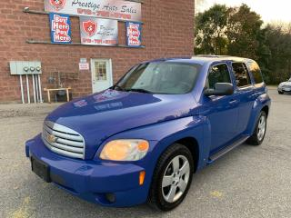 Used 2008 Chevrolet HHR LS/ONE OWNER/NO ACCIDENT/CERTIFIED/WARRANTY INCLUD for sale in Cambridge, ON