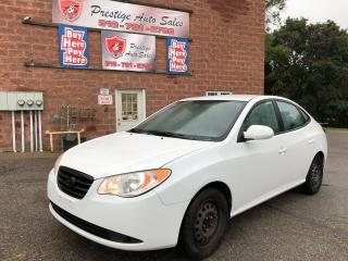 Used 2009 Hyundai Elantra GL/ONE OWNER/NO ACCIDENT/CERTIFIED/WARRANTY INCL for sale in Cambridge, ON