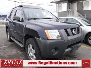 Used 2007 Nissan Xterra SE 4D Utility 4WD for sale in Calgary, AB