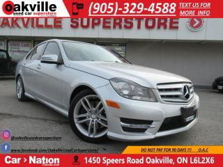 Used 2013 Mercedes-Benz C-Class C300 4MATIC | LEATHER | SUNROOF | BLUETOOTH for sale in Oakville, ON