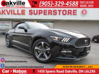 Used 2017 Ford Mustang V6 | PUSH BUTTON START | BLUETOOTH | B/U CAM for sale in Oakville, ON