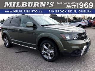 Used 2016 Dodge Journey Crossroad AWD / DVD for sale in Guelph, ON