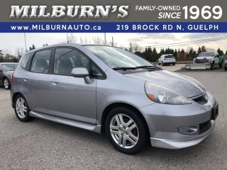 Used 2007 Honda Fit Sport for sale in Guelph, ON