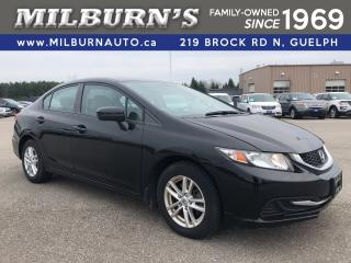 Used 2014 Honda Civic SEDAN LX for sale in Guelph, ON
