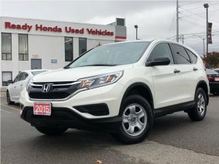 Used 2015 Honda CR-V LX AWD - Rear Camera - Heated Seats for sale in Mississauga, ON