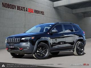 Used 2019 Jeep Cherokee Trailhawk 4x4*Leather*Tech Pkg*NAV*Elite for sale in Mississauga, ON
