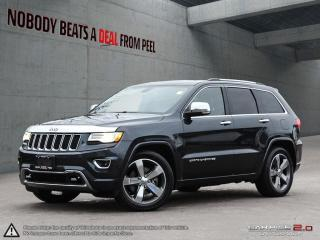 Used 2015 Jeep Grand Cherokee Overland*Diesel*Panoroof*NAV*Pwrgate*Ecoluxury for sale in Mississauga, ON