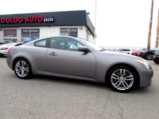 Used 2008 Infiniti G37 G37 LEATHER SUNROOF BLUETOOTH CERTIFIED 2YR WARRANTY for sale in Milton, ON