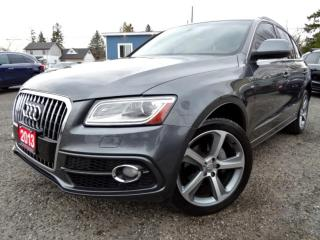 Used 2013 Audi Q5 S-LINE PRESTIGE 2.0T QUATTRO/NAVI/PANO/CERTIFIED for sale in Guelph, ON