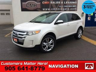 Used 2013 Ford Edge SEL  NAV LEATH PANO-ROOF PWR-GATE  BT HS PARK-SENS 20