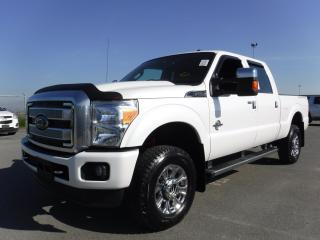 Used 2016 Ford F-350 SD Lariat Platinum Crew Cab 4WD Short Box Diesel for sale in Burnaby, BC