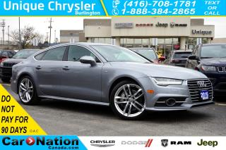 Used 2016 Audi A7 3.0T| TECHNIK| S-LINE| AUDI SIDE ASSIST & MORE for sale in Burlington, ON