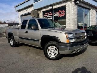 Used 2003 Chevrolet Silverado 1500 LS EXT CAB 4X4 for sale in Longueuil, QC