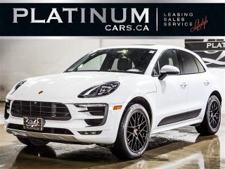 Used 2017 Porsche Macan GTS, NAVI, PANO, CAM, Prem PLUS, Park Assist for sale in Toronto, ON