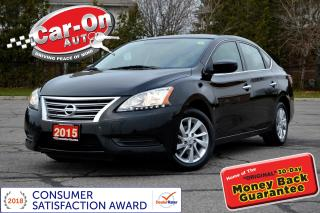 Used 2015 Nissan Sentra 1.8 SV NAVI SUNROOF REAR CAM HTD SEATS BOSE ALLOYS for sale in Ottawa, ON