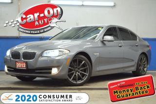 Used 2012 BMW 535xi AWD I-6 TURBO NAV SUNROOF REAR CAM LOADED for sale in Ottawa, ON