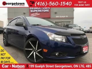 Used 2013 Chevrolet Cruze LS  | 20 RIMS | INTAKE | CUSTOM | for sale in Georgetown, ON