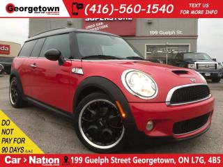 Used 2010 MINI Cooper Clubman S LOW KM | SUNROOF | LEATHER | HEATED SEATS for sale in Georgetown, ON