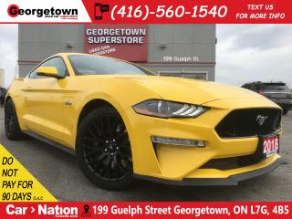 Used 2018 Ford Mustang GT Premium | PERFORMANCE PACK | 1 OWNER for sale in Georgetown, ON