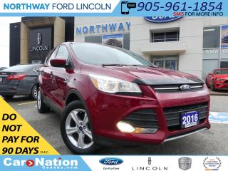 Used 2016 Ford Escape SE | REAR CAMERA |HEATED SEATS |BLUETOOTH| AWD for sale in Brantford, ON