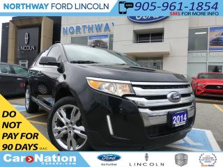 Used 2014 Ford Edge LTD |NAV| HTD LEATHER | PANO ROOF | REAR CAM |AWD for sale in Brantford, ON