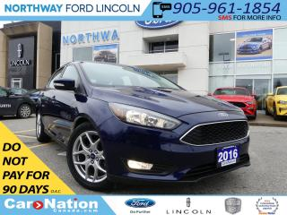Used 2016 Ford Focus SE | REAR CAMERA | HEATED SEATS | LOW KM | for sale in Brantford, ON