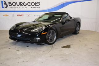 Used 2005 Chevrolet Corvette Convertible, 3lt for sale in Rawdon, QC