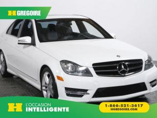 Used 2014 Mercedes-Benz C 300 C 300 4 MATIC A/C GR for sale in St-Léonard, QC