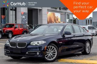 Used 2014 BMW 5 Series 528i xDrive|Nav|Sunroof|Heat Frnt.Seats|H/K Audio|Sat|Bluetooth|18