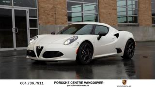 Used 2015 Alfa Romeo 4C Coupe Coupe Rare Launch Edition! for sale in Vancouver, BC