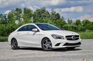 Used 2014 Mercedes-Benz CLA250 4MATIC Coupe for sale in Ottawa, ON