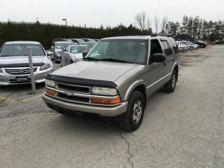 Used 2003 Chevrolet Blazer LS 4WD - LEATHER! 4WD! CERTIFIED! POWER SEAT! for sale in Newmarket, ON