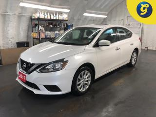 Used 2017 Nissan Sentra SV * CVT * Sunroof * Nissan connect * Back up camera* Heated front seats * Hands free steering wheel * Phone connect * Voice recognition * Alloys * Ke for sale in Cambridge, ON