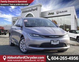 Used 2015 Chrysler 200 LX *LOCALLY DRIVEN* for sale in Abbotsford, BC