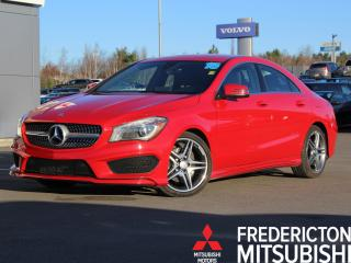Used 2015 Mercedes-Benz CLA-Class AWD   HEATED LEATHER   NAV for sale in Fredericton, NB