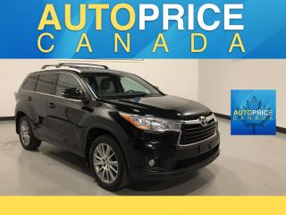 Used 2015 Toyota Highlander XLE 7PASS|MOONROOF|NAVIGATION|LEATHER for sale in Mississauga, ON