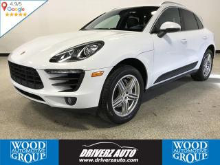 Used 2016 Porsche Macan MACAN S, LOCAL VEHICLE, CLEAN CARPROOF for sale in Calgary, AB