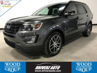 Used 2017 Ford Explorer Sport ADAPTIVE CRUISE, HEATED STEERING WHEEL, REMOTE START for sale in Calgary, AB