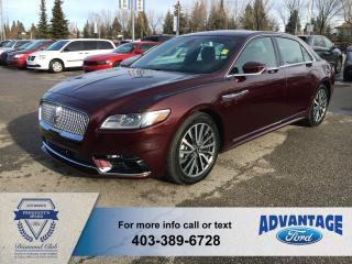 Used 2017 Lincoln Continental Select for sale in Calgary, AB