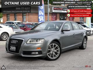 Used 2009 Audi A6 3.0 MINT CONDITION! NAVI! BACK UP CAM! for sale in Scarborough, ON