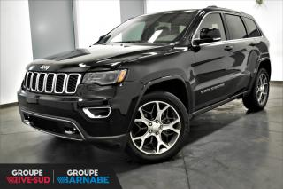 Used 2018 Jeep Grand Cherokee LIMITED|V6+NAVIGATION+BLUETOOTH+CAMÉRA R for sale in St-Jean-Sur-Richelieu, QC