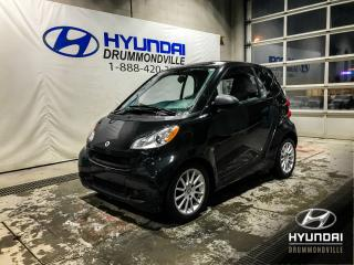 Used 2011 Smart fortwo PASSION + A/C + RADIO AM/FM + WOW !! for sale in Drummondville, QC