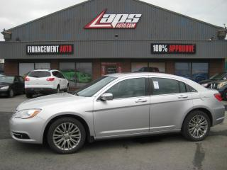 Used 2012 Chrysler 200 Berline 4 portes Limited for sale in Ste-Catherine, QC