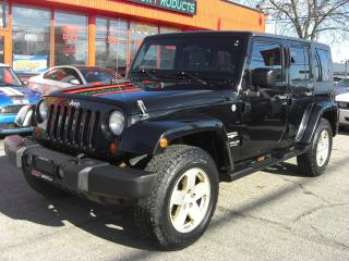 Used 2007 Jeep Wrangler Unlimited Sahara 4WD for sale in London, ON