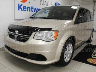 Used 2014 Dodge Grand Caravan SXT FWD with rear climate control and enough space for the whole family for sale in Edmonton, AB