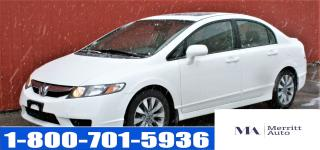 Used 2010 Honda Civic EX-L  with Leather Seating, Sunroof Sedan for sale in London, ON